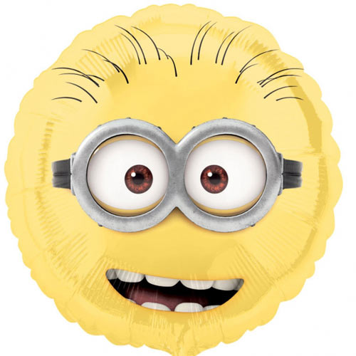 "18"" Minions Face Foil Balloon"