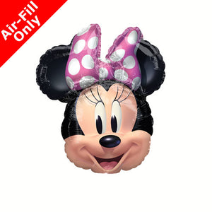 Minnie Mouse Forever Balloon on Stick