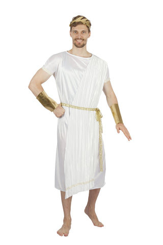 Pleated Greek God Costume