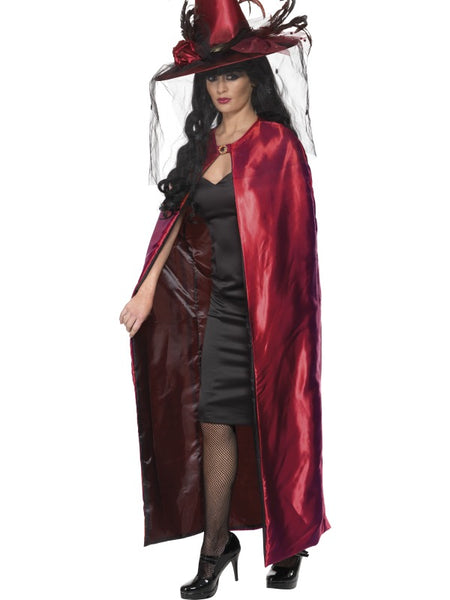 Deluxe Red Witches' Cape
