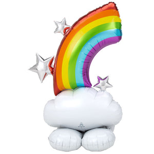 Air-filled Rainbow Airloonz Balloon Decoration