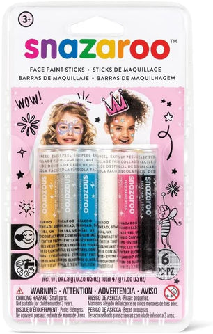 Snazaroo Fantasy Face Paint Sticks Pack