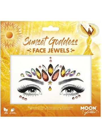 Sunset Goddess Face Jewels
