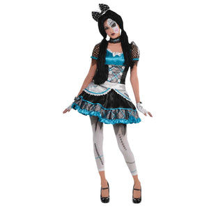 Teen Shattered Doll Costume
