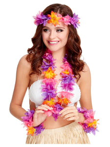 Tropical Hawaiian Garland Set