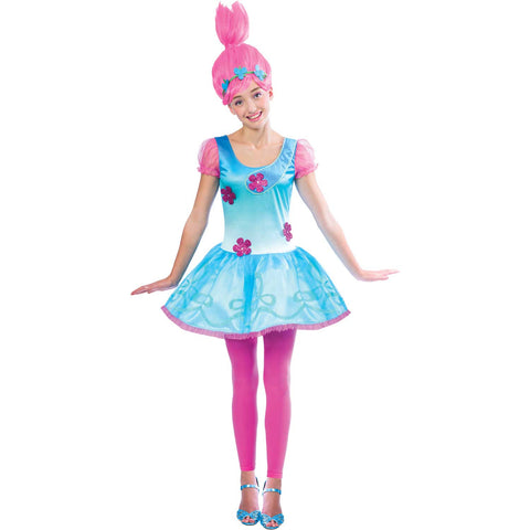 Tween Trolls Poppy Costume
