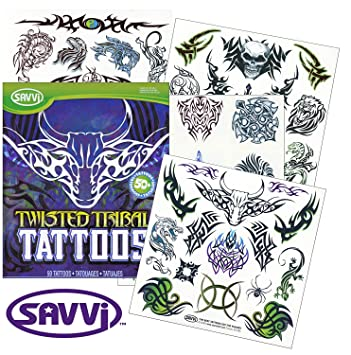 Twisted Tribal Tattoo Set