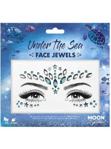 Under the Sea Face Jewels