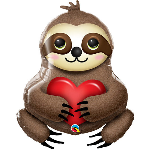 39 inch Adorable Sloth Supershape Foil Balloon