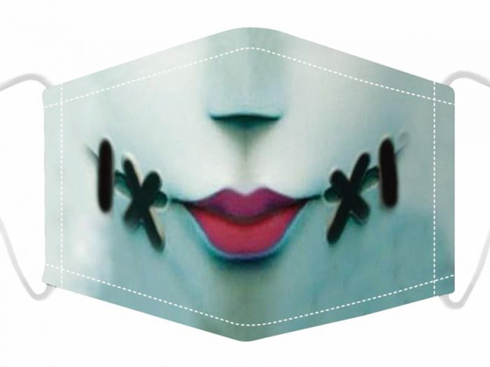 Adult's Stitch Mouth Reusable Face Mask
