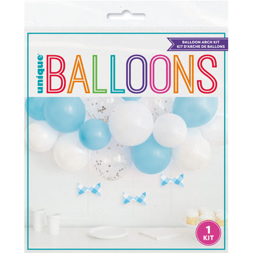 Blue & White DIY Balloon Arch Kit