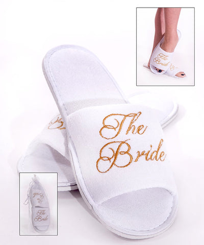 Bride Spa Slippers