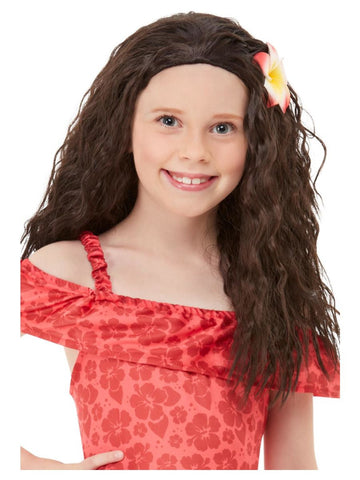 Girl's Hawaiian Princess Wig