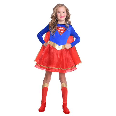 Child's Classic Supergirl Costume