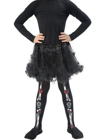 Children's Day of the Dead Tights