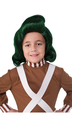 Child's Oompa Loompa Wig