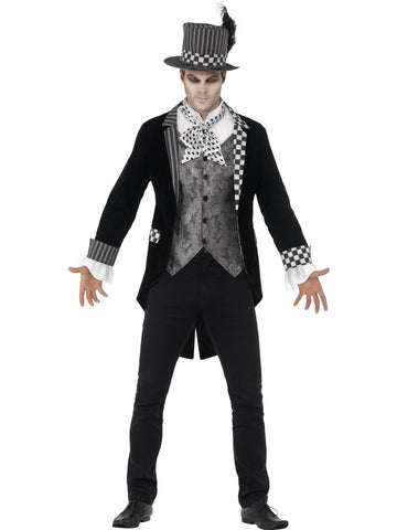 Deluxe Dark Mad Hatter Costume