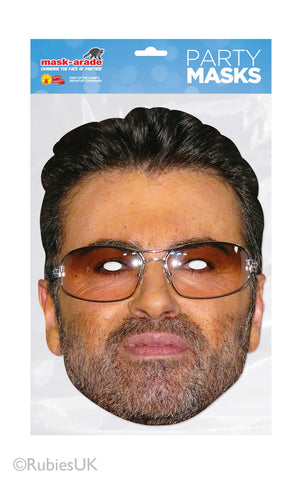 George Michael Card Mask