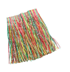 Children's Multi-Coloured Grass Skirt