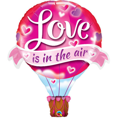 42 inch Love is in the Air Hot Air Balloon Supershape