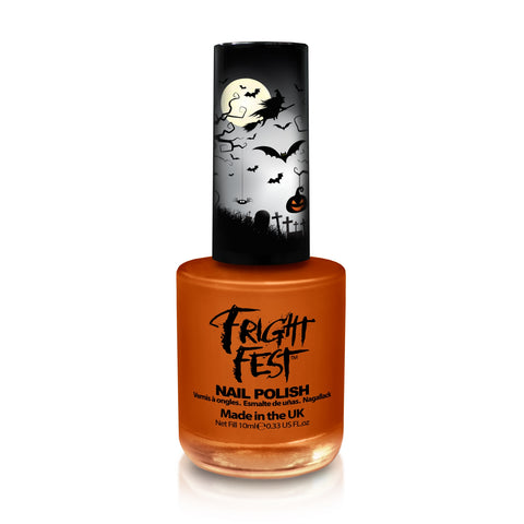 Fright Fest Pumpkin Orange Nail Polish