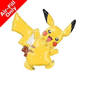 Pikachu Balloon on Stick