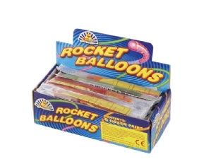 Rocket Balloons (Two pack)