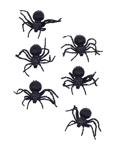 Six Small Spiders