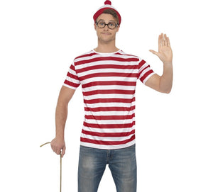 Where's Wally Costume Kit