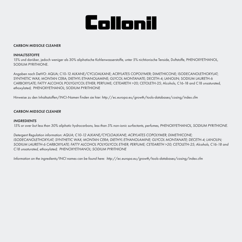 Collonil -  Carbon Lab Midsole Cleaner