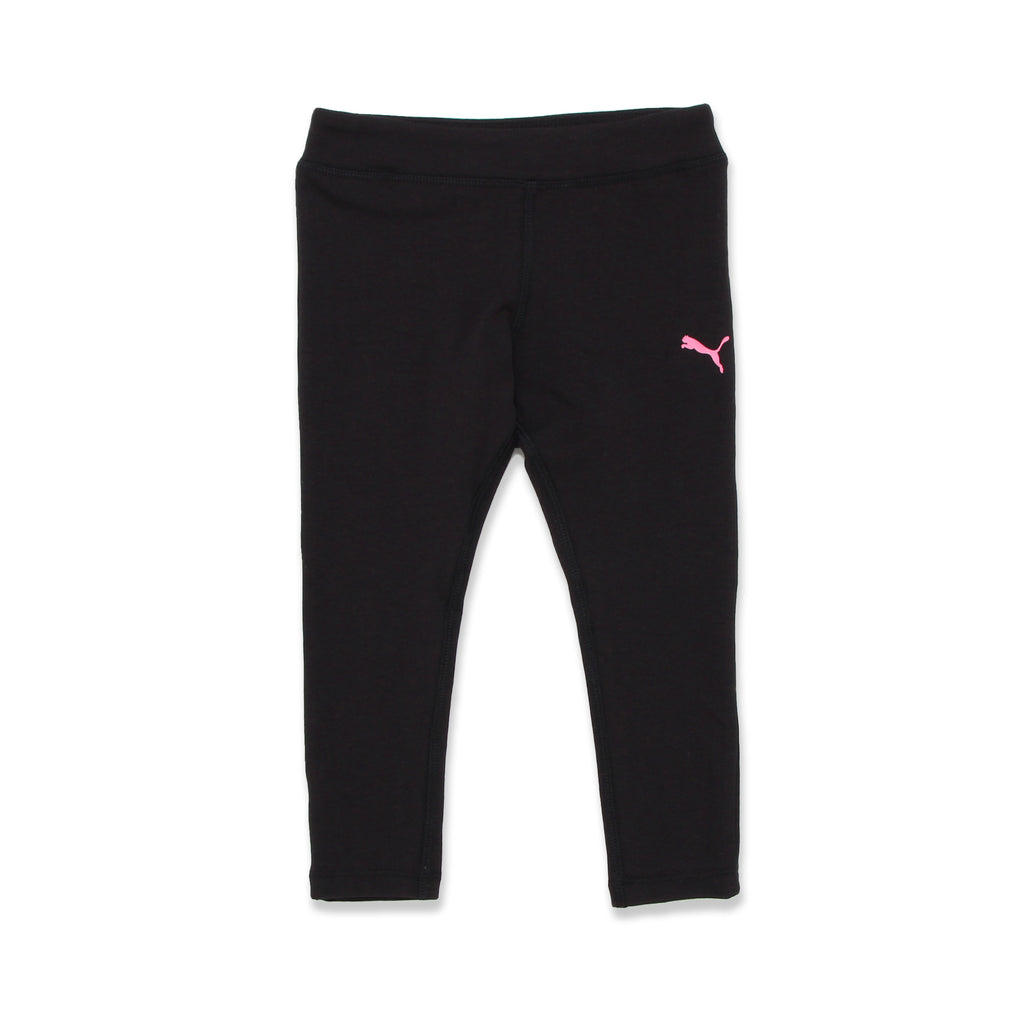 Leggings Feature Covered Elastic Waistband and small puma logo in leg