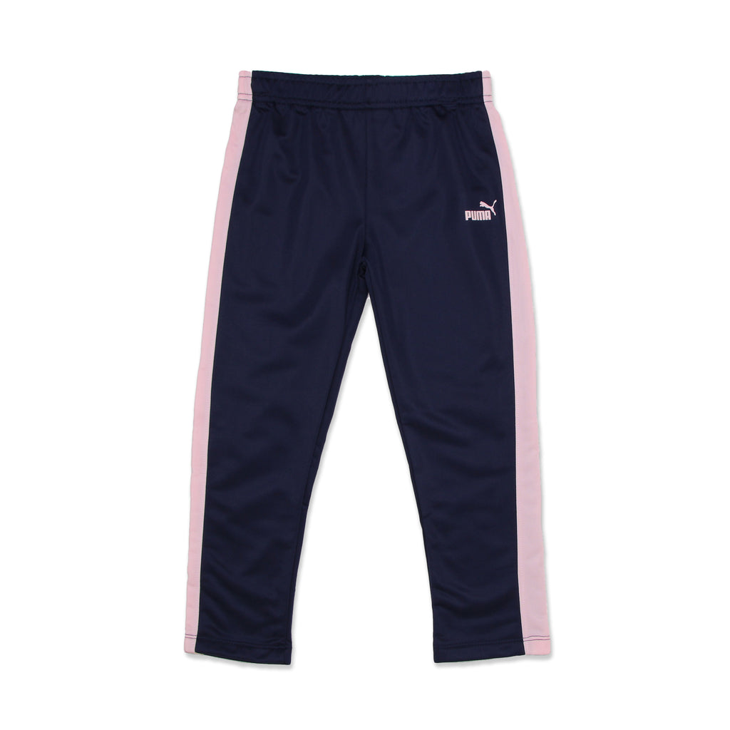 PUMA Little Girl matching bottoms Trackpants sweatpants Feature Covered Elastic Waistband and big cat logo
