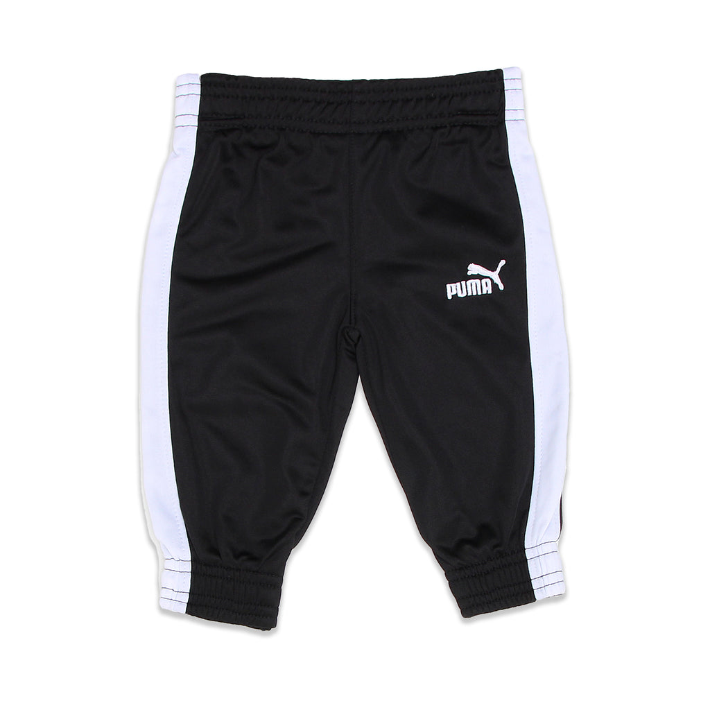 PUMA Baby Boys Pants Feature Athletic Striping Down Leg two colored blocks and puma logo