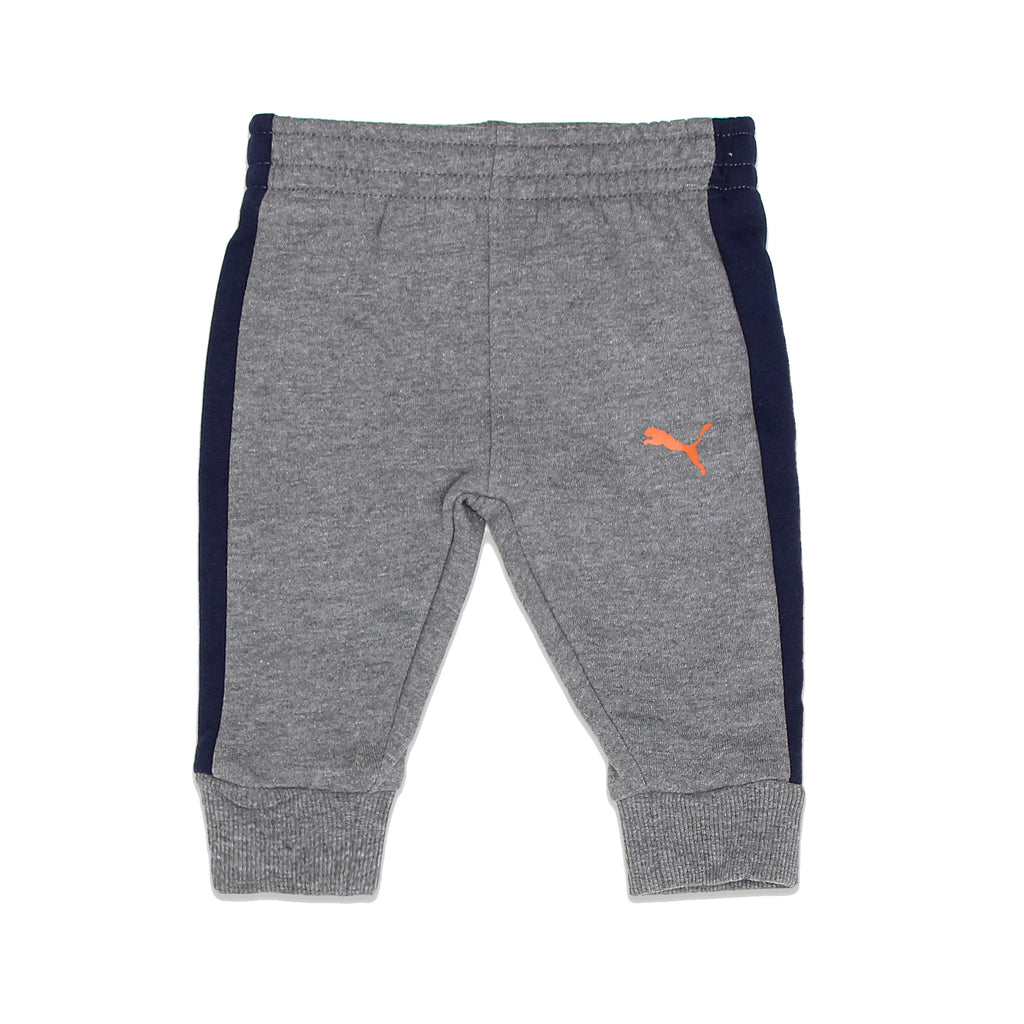 PUMA Baby Boys matching Jogger sweat Pants Feature Athletic Striping Down Leg