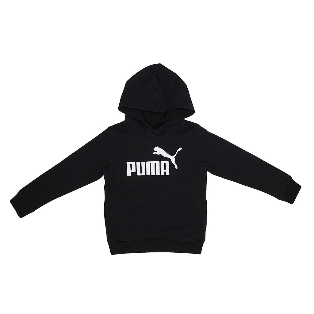PUMA Little Boys Top Features PUMA Big Cat Logo Across Chest Hidden Full Length Kangaroo Pocket Ribbed Cuffs And Hem