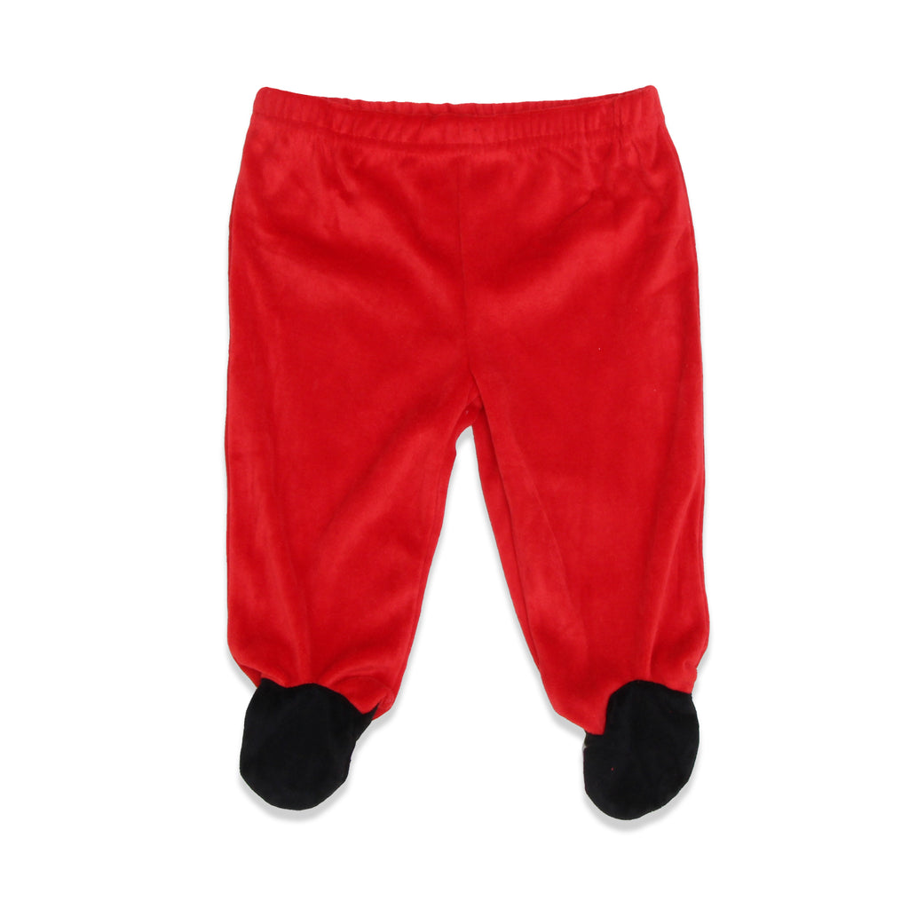 Weeplay Baby Boys matching Footie Pants Feature Faux Shoe Design