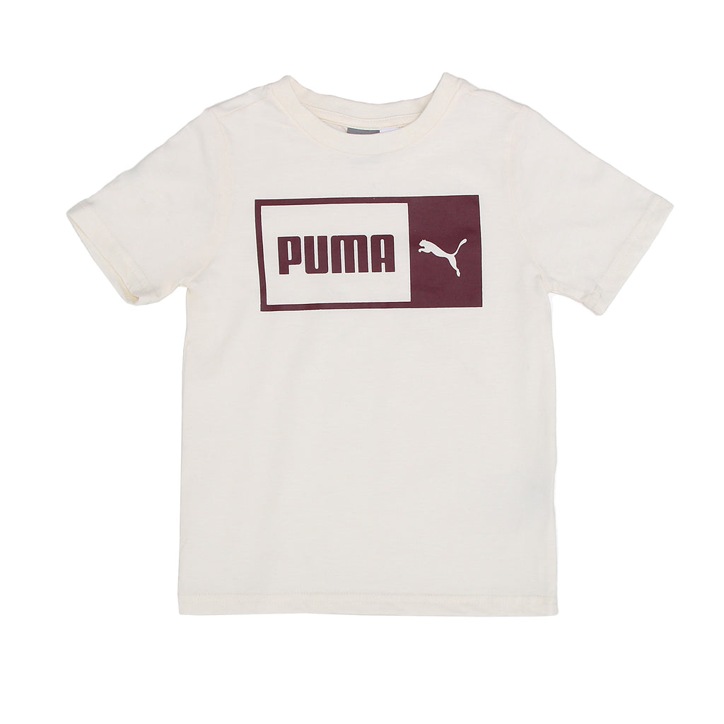 PUMA Little Boys shortsleeve top TShirt Features PUMA Big Cat Logo Across Chest