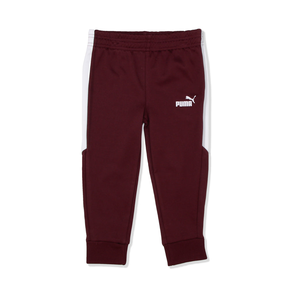 PUMA Toddler Boys three Piece set matching Ribbed Cuff Jogger Sweat Pants Feature Covered Elastic Waistband