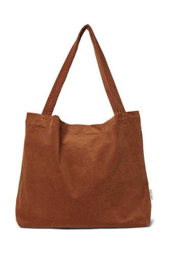 studio noos // brown-ie rib mom bag