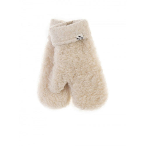 alwero // wollen kinderwanten freeze beige