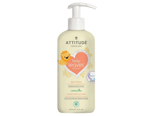 attitude // baby leaves bodylotion - pear nectar