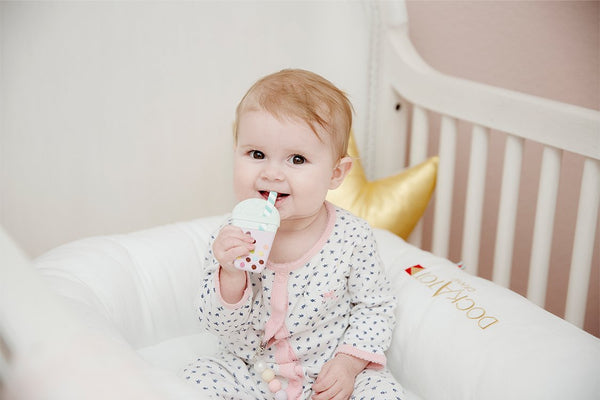 Loulou LOLLIPOP Bubble Tea Teether without holder