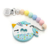 Loulou LOLLIPOP Unicorn Donut Teether Cotton Candy