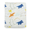 Loulou Lollipop Fitted Crib Sheet - Dinoland