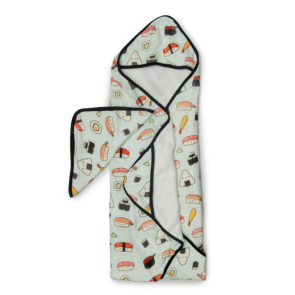 Loulou LOLLIPOP Sushi Hooded Towel Set
