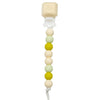 Loulou LOLLIPOP Silicone Teether with holder - Avocado
