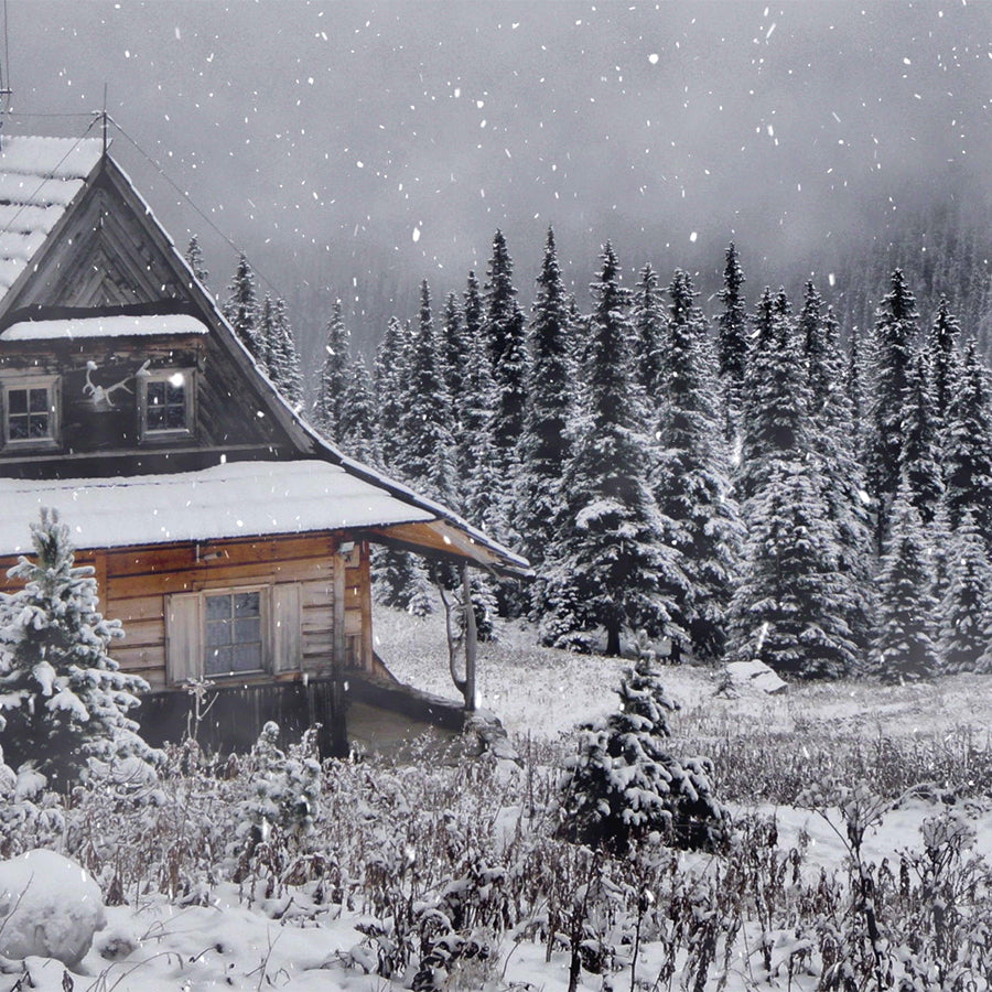Snow Cabin Meditation Music