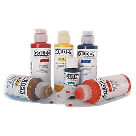 Golden 4 oz Fluid Acrylics