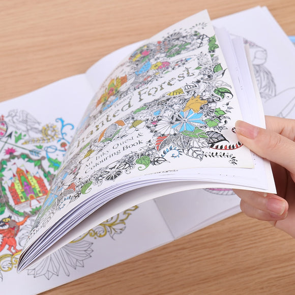 Enchaned Forest Coloring Book