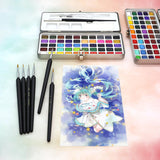 Premium Watercolor Paint Set